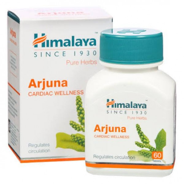 Himalaya Pure Herbs Cardiac Wellness Arjuna Pill