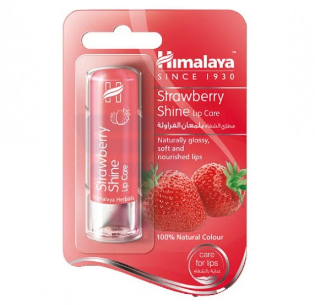 Strawberry (Shine Lip Care) 4.5 gm Himalaya