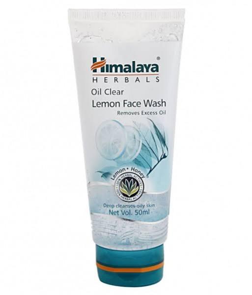 Oil Clear Lemon 50 ml Face Wash Himalaya