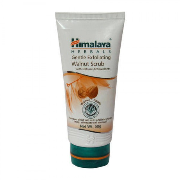 Gentle Exfoliating Walnut 50 gm Scrub Himalaya