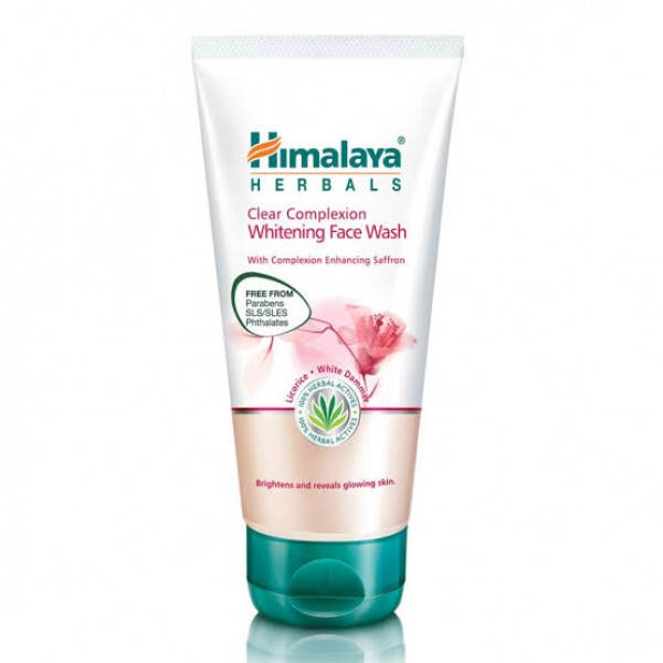 Clear Complexion Whitening 50 ml Face Wash Himalaya
