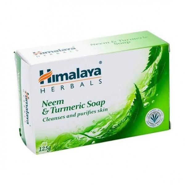 Neem & Turmeric Soap 125 gm Soap Himalaya
