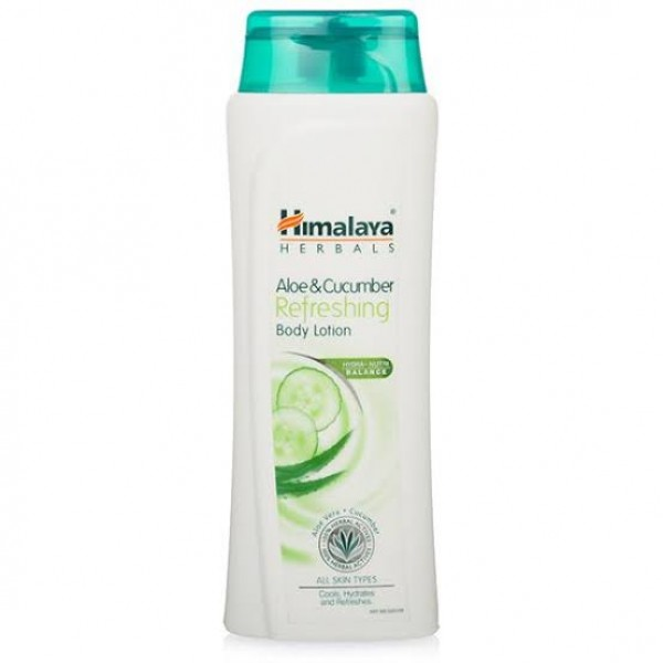 Aloe & Cucumber Bottle 100 ml Refreshing Body Lotion Himalaya