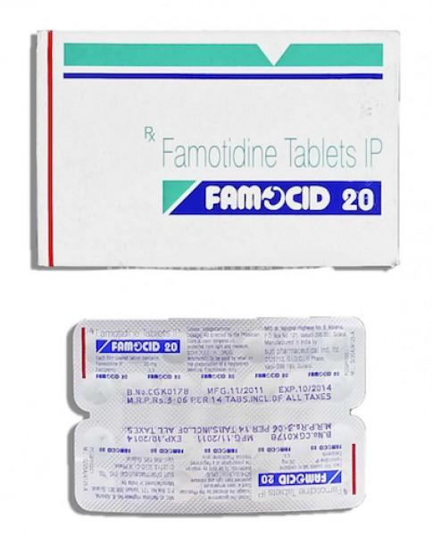 Pepcid Generic 20 mg Pill