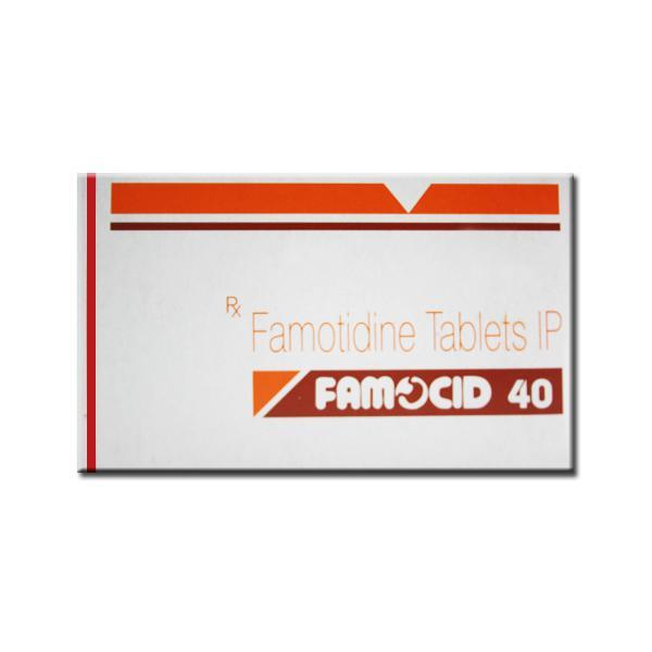 Pepcid Generic 40 mg Pill