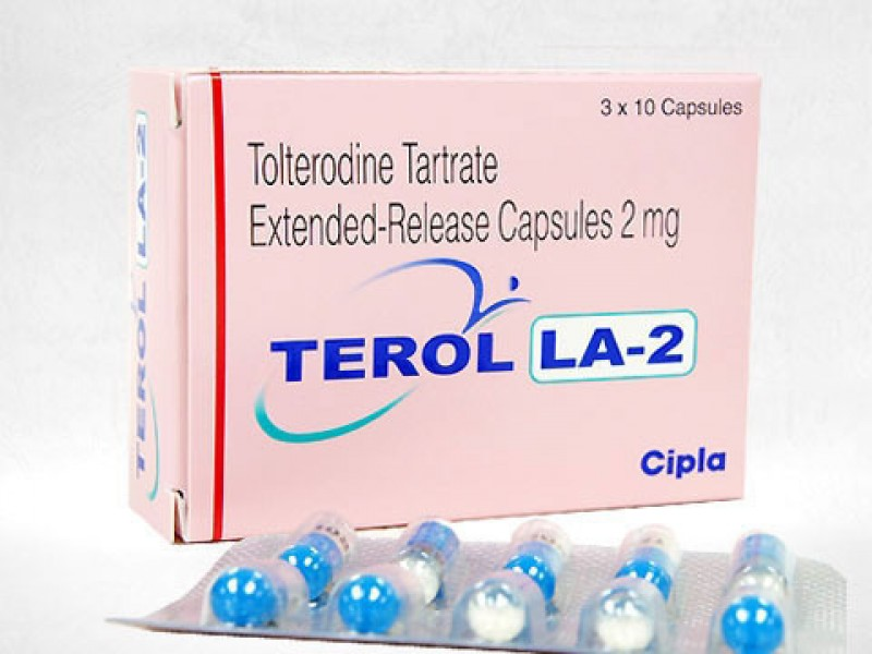 Detrol LA Generic 2mg Pill