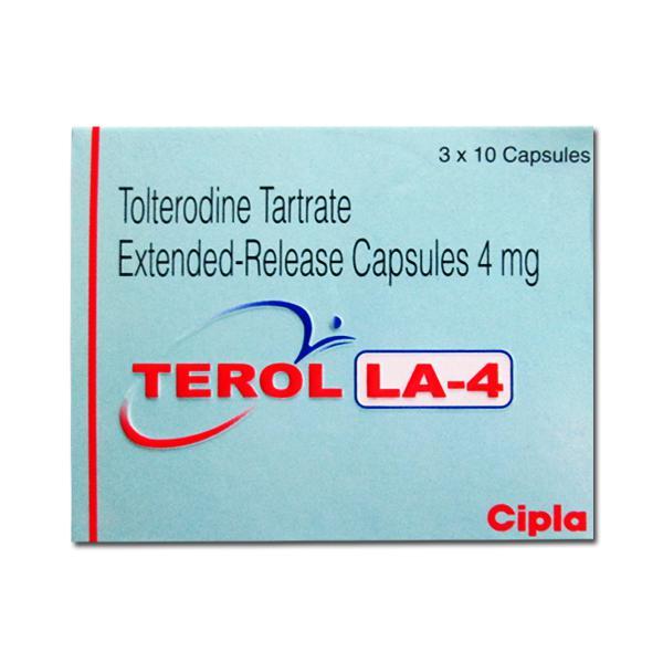Detrol LA Generic 4mg Pill