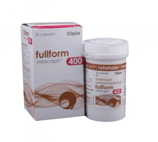 Beclometasone  + Formoterol 400mcg/6mcg Generic Rotacaps with Rotahaler
