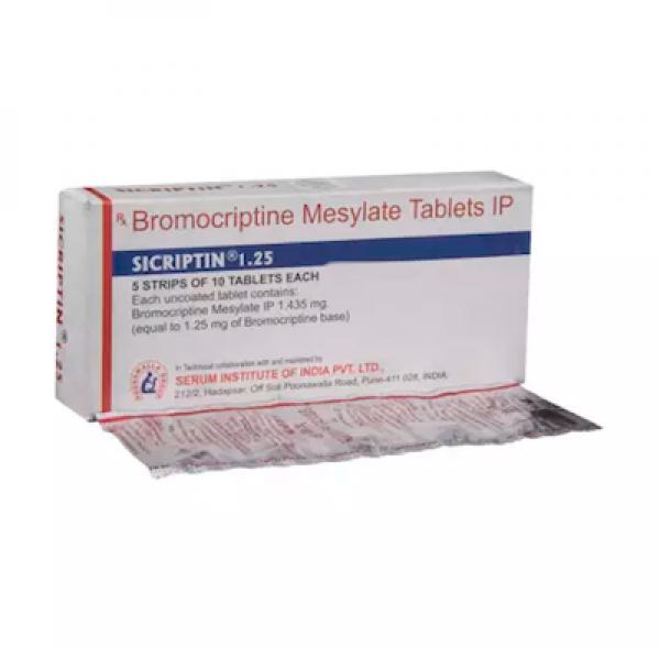 Parlodel Generic 1.25mg Pill