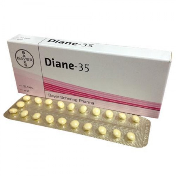 Cyproterone + Ethinyl Estradiol Generic 2mg/0.035mg  Pill
