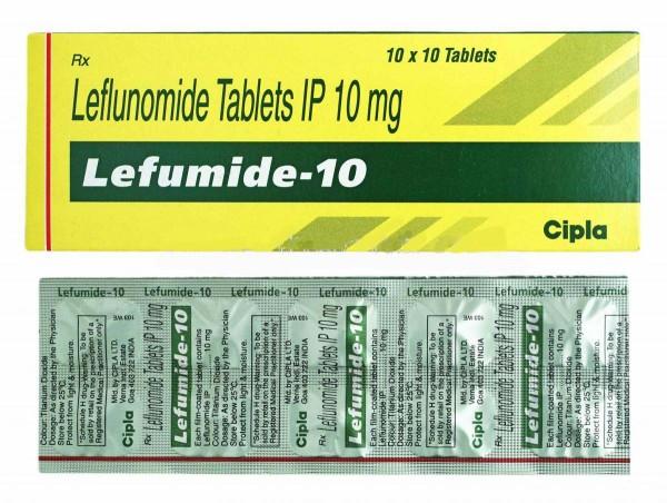Arava Generic 10mg Pill