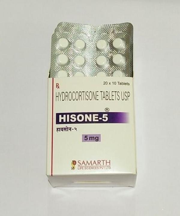 Cortef Generic 5 mg Pill