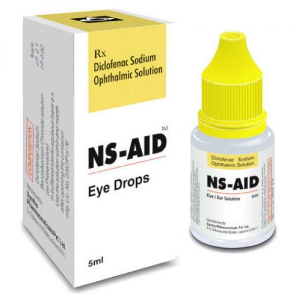 Voltaren Generic 0.1 Percent 5 ml Eye Drops