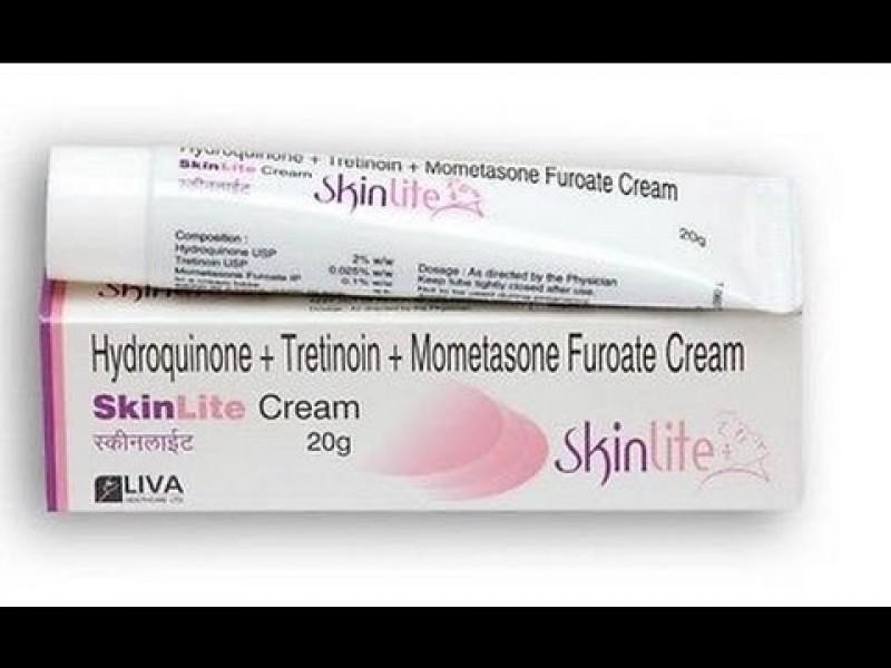 Hydroquinone (2%) + Tretinoin (0.025%) + Mometasone (0.1%) +  Generic 20gm Cream