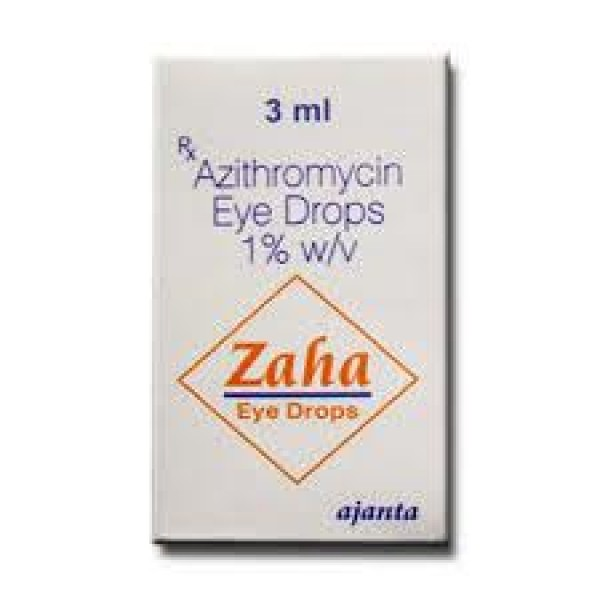 Azasite Generic 1 Percent  Eye Drops of 3 ml