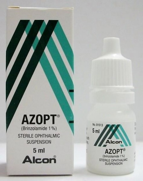 Azopt 1 Percent Eye Drops of 5ml (International Brand variant)