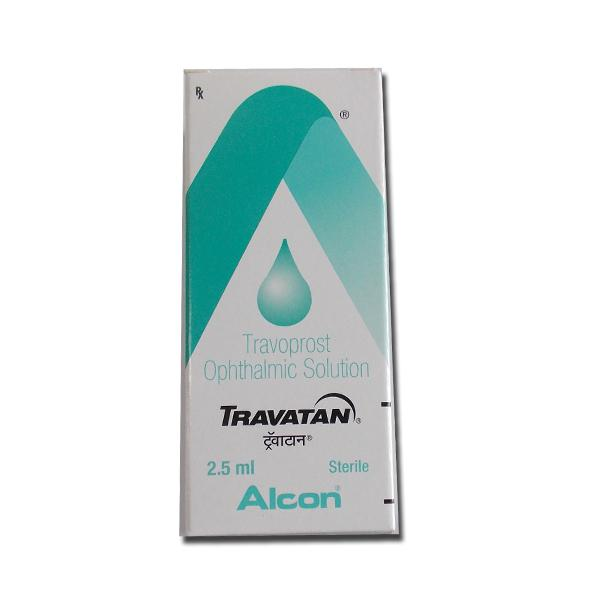 Travatan 0.004 Percent  Eye Drop of 2.5ml (International Brand variant )
