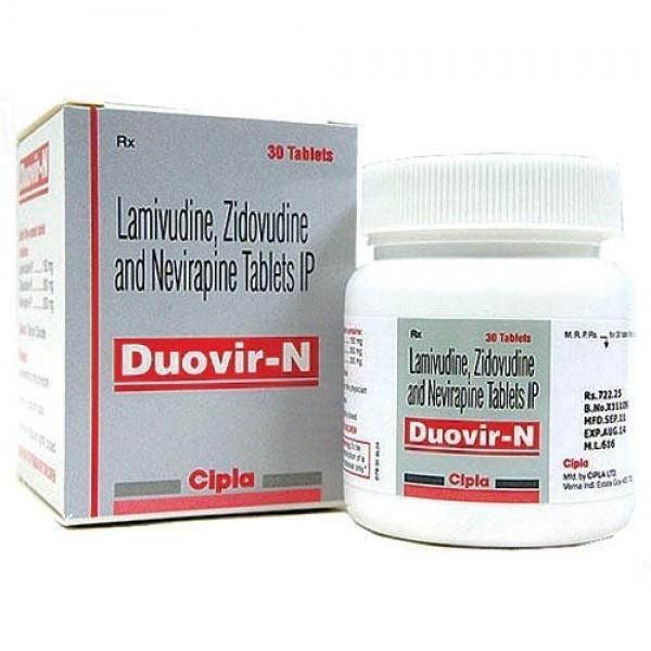 Lamivudine + Zidovudine + Nevirapine Generic 150mg/300mg/200mg Pill