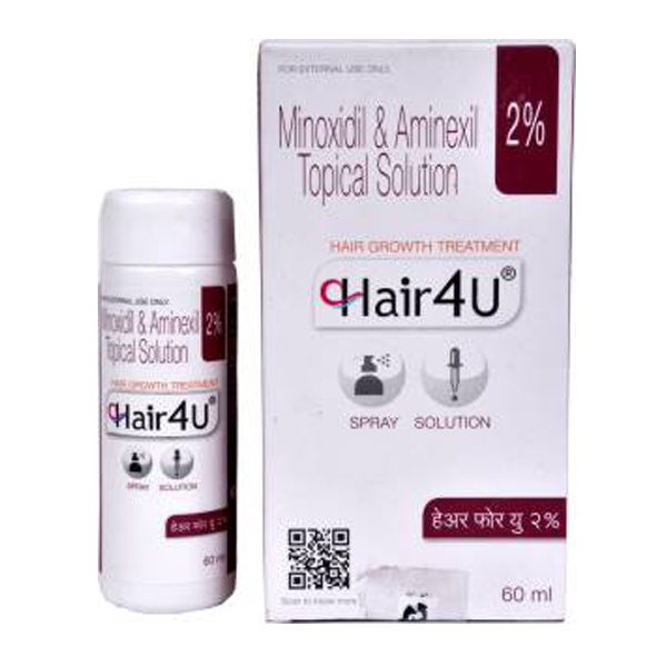 Minoxidil (2%) + Aminexil (1.5%) Generic 60ml Bottle