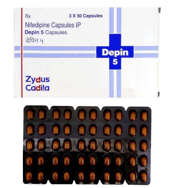 Procardia Generic 5 mg Capsule