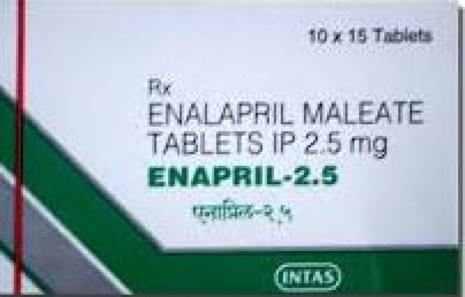 Vasotec Generic 2.5 mg Pill