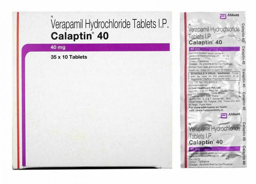 Calan Generic 40 mg Pill