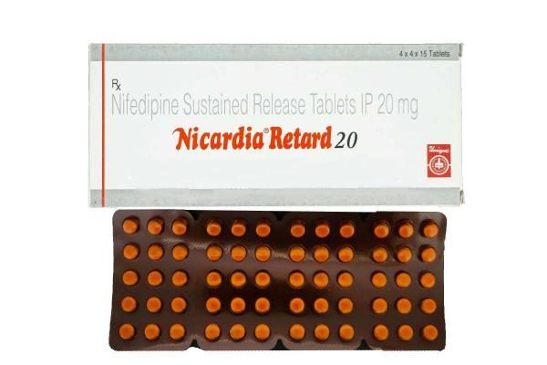 Procardia Generic 20 mg Pill