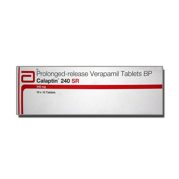 Calan SR Generic 240 mg Pill