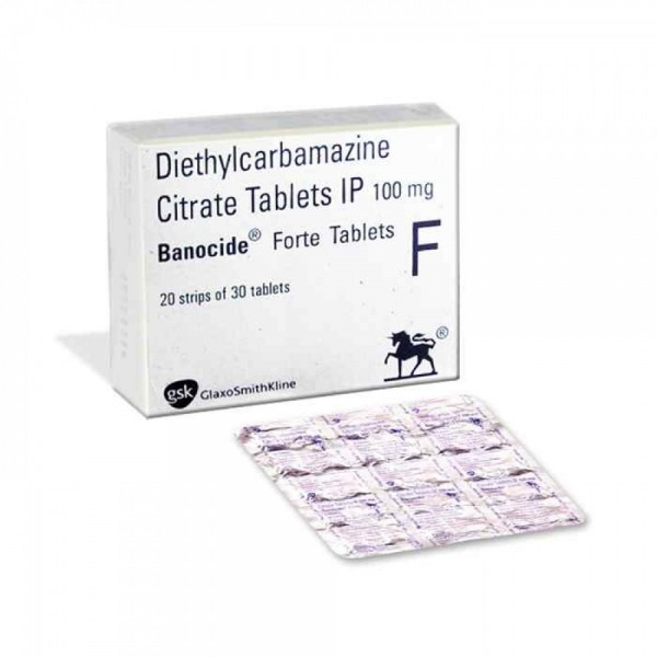 Diethylcarbamazine Generic 100 mg Pill