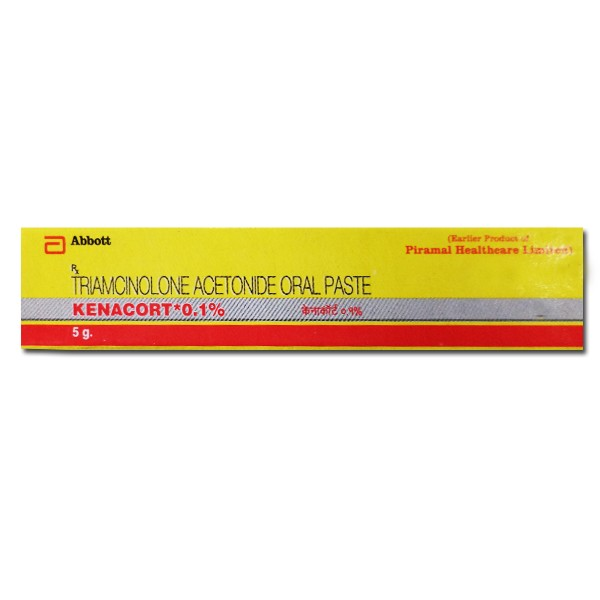 Kenalog Generic 0.1 % Paste 5gm