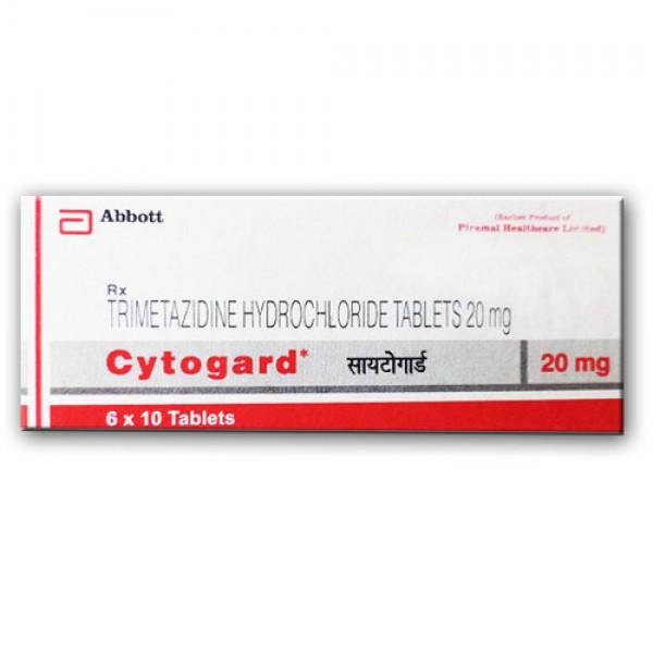 Trimetazidine Generic 20 mg Pill