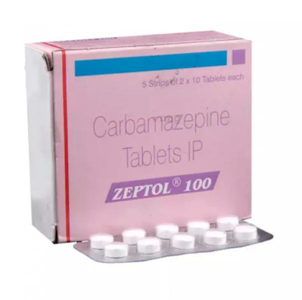 Tegretol Generic 100 mg Pill