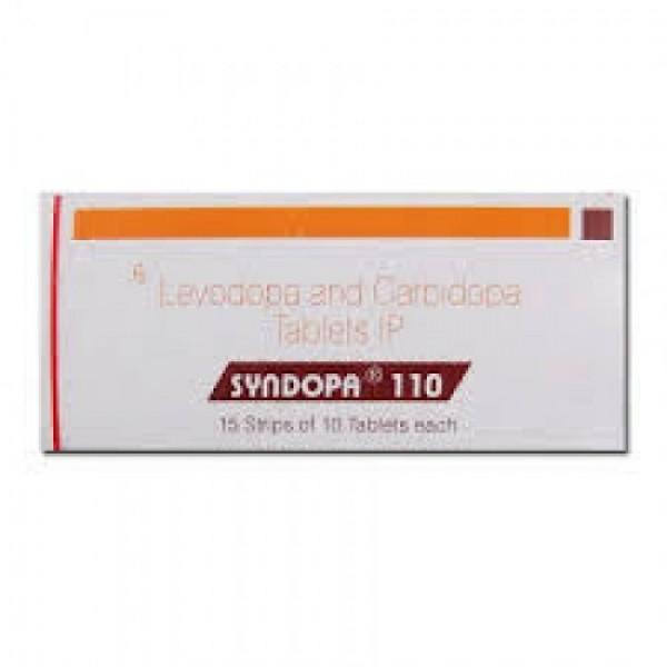 Sinemet Generic 100 mg / 10 mg Pill