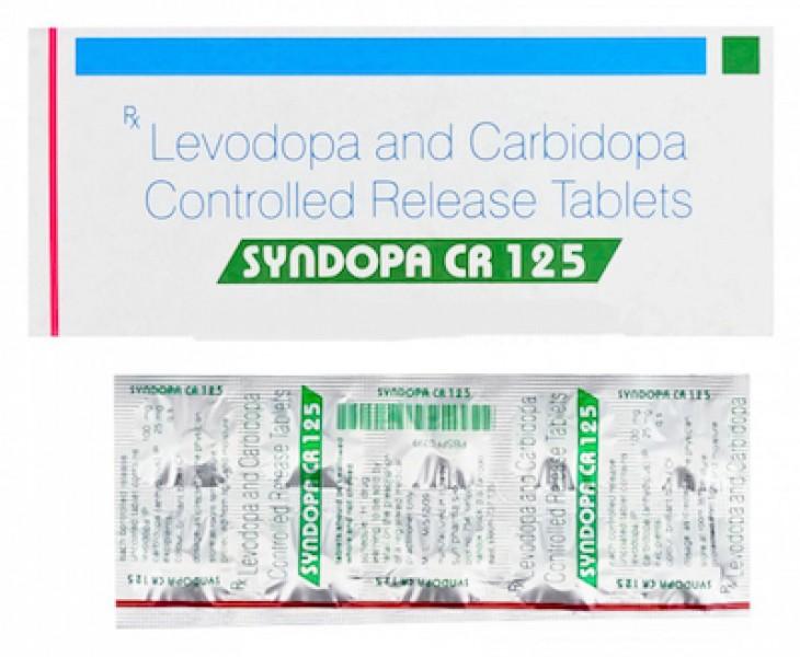 Sinemet Generic 25 mg / 100 mg Pill