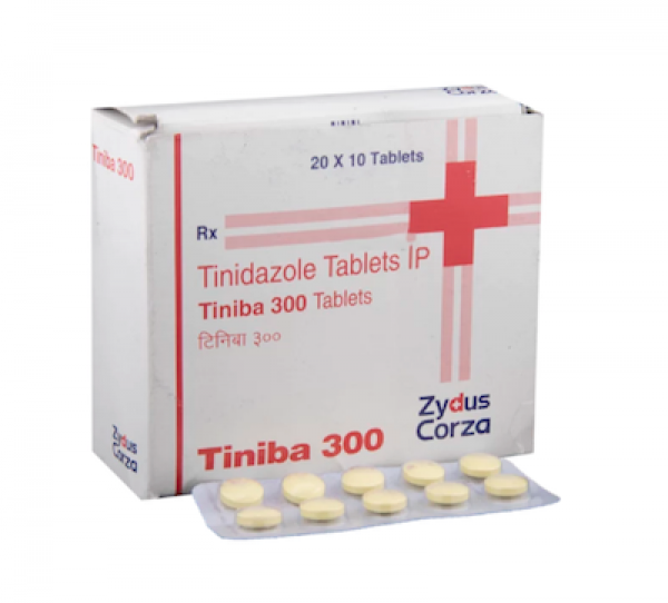 Tinidazole Generic 300 mg Pill