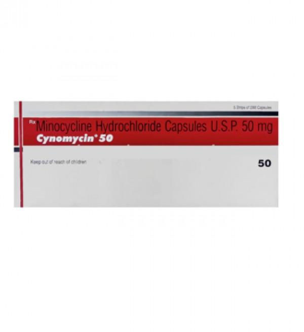 Minocin Generic 50mg Capsule