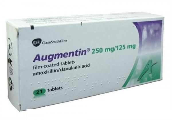 Augmentin 250mg 125mg Tablets ( Name Brand )