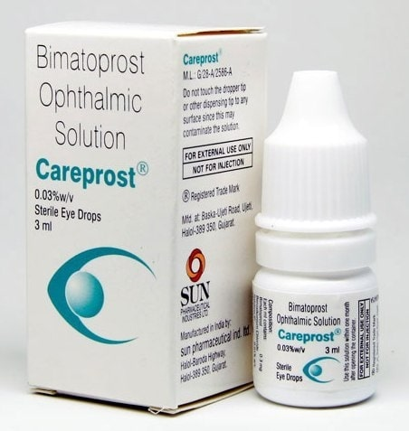 Careprost ( Bimatoprost ) Eye Drops 0.03 3ml