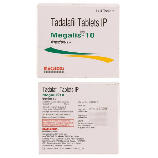 Cialis 10mg (Generic Version) Tablets