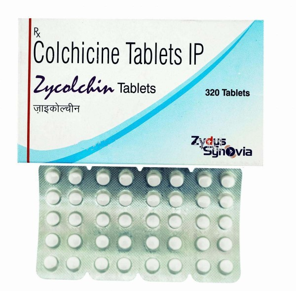 Colchicine 0.5 mg Tablets (Generic Equivalent)