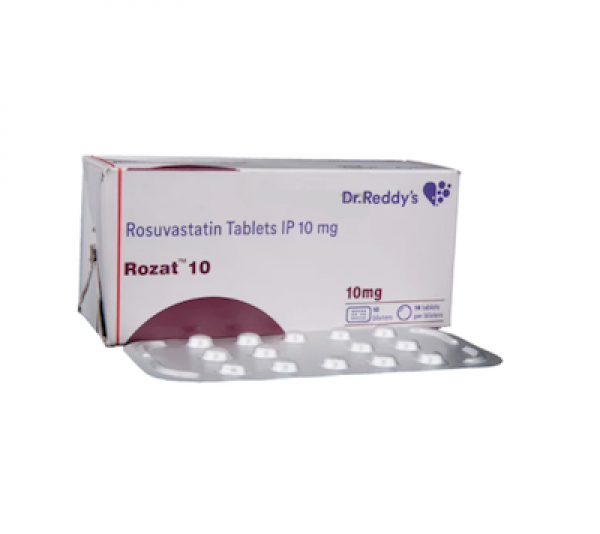 Crestor 10mg Tablets (Generic Equivalent)