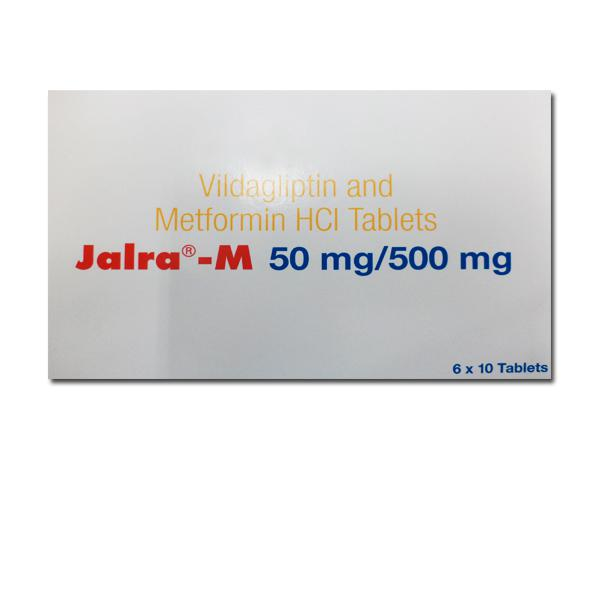Eucreas 50 mg/500 mg Tablets (Generic Equivalent)