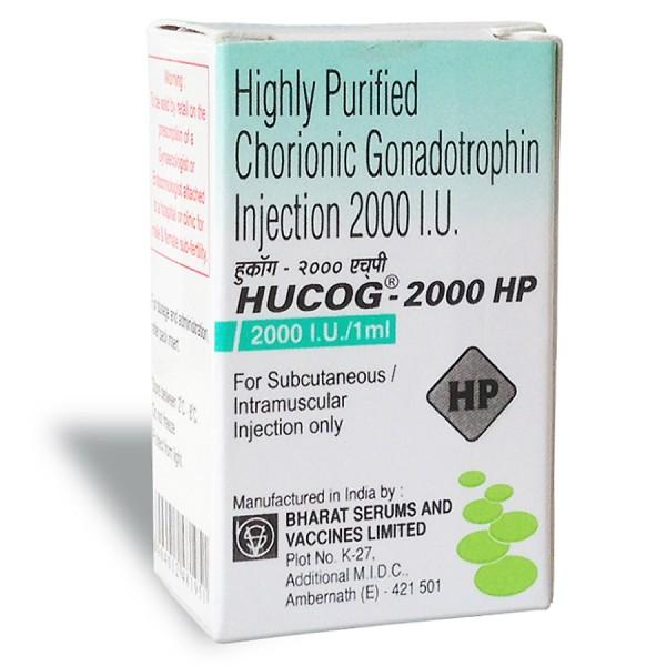 Hucog 2000 iu / ml Injection ( HCG Liquid High Purity- Intramuscular)