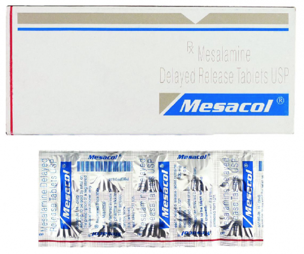 Asacol 400mg  Tablets  (Generic Equivalent)