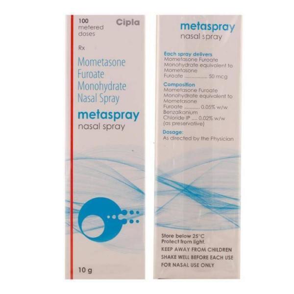 Nasonex  50mcg  100 Doses Nasal Spray ( Generic Equivalent )
