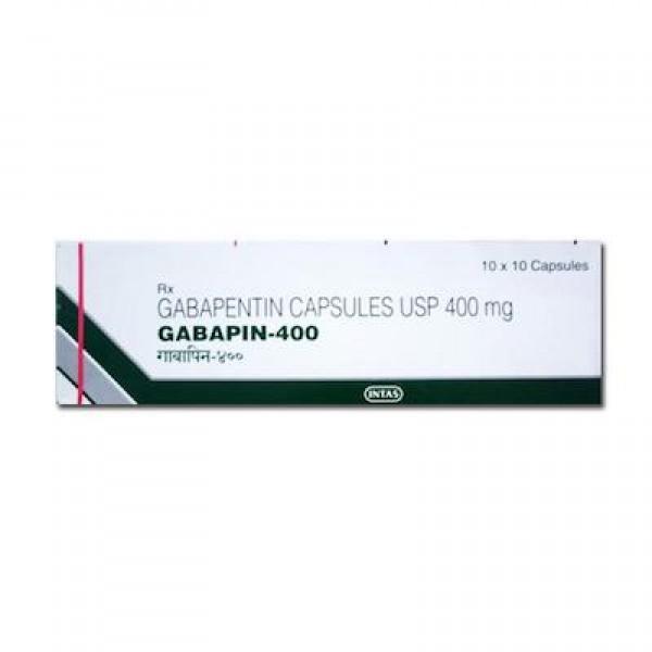 Neurontin 400mg capsules (Generic Equivalent)