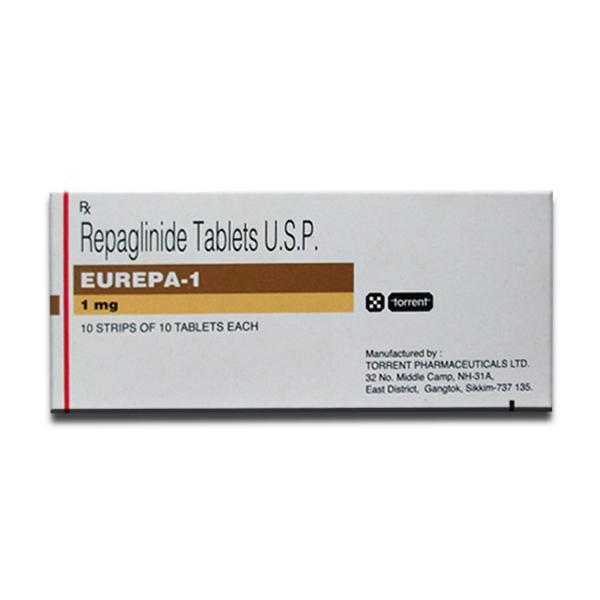 Prandin 1 mg Tablets (Generic Equivalent)