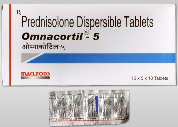 Generic for Prednisone 5mg Tablets