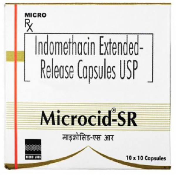 Indocin Generic 75 mg Capsule
