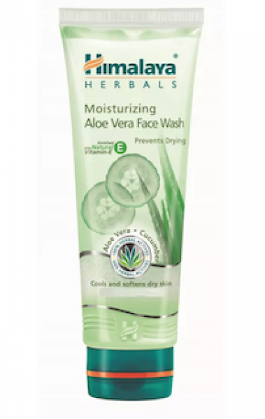 Moisturizing Aloe Vera 50 ml Face Wash Himalaya